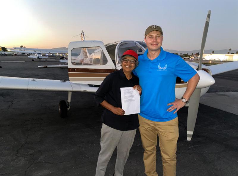 beverly hills flight school training